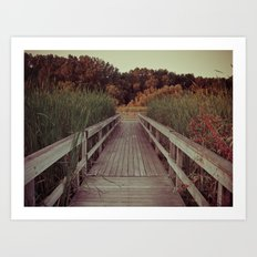 Our Youth is Fleeting, Old Age is Just Around the Bend. Art Print