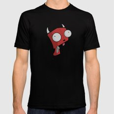 Devil Gir SMALL Black Mens Fitted Tee