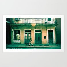 French Quater Art Print