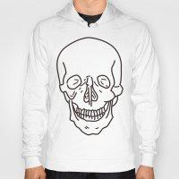 skeleton Hoodies featuring Skeleton by FACTORIE