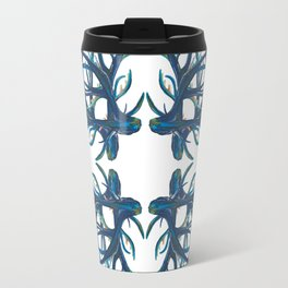 Coral Fan Travel Mug