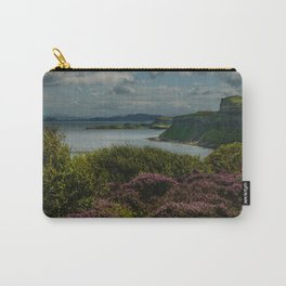Heather and sea Carry-All Pouch