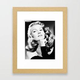 I wonder... Framed Art Print