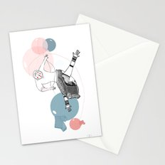 farewell bubbles  Stationery Cards