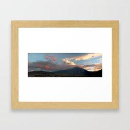 Chasing Sunsets Framed Art Print