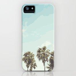 Windy Palms iPhone Case