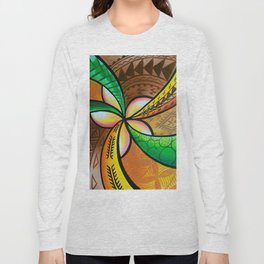 Abstract Pua Long Sleeve T-shirt