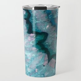 Teal Crystal Travel Mug