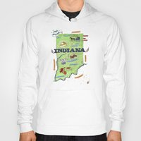 indiana Hoodies featuring INDIANA by Christiane Engel