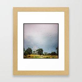 HILL COUNTRY RAINBOW Framed Art Print