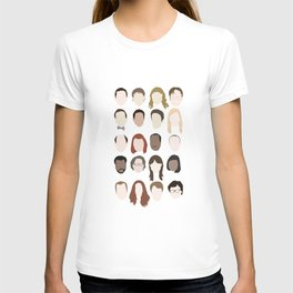 the office minimalist poster T-shirt