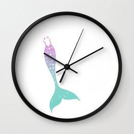 Mermaid Femme Wall Clock