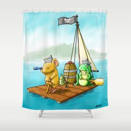 The Adventure Shower Curtain