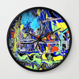 Shipping Wall Clock