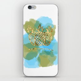 pineapple paradise iPhone Skin