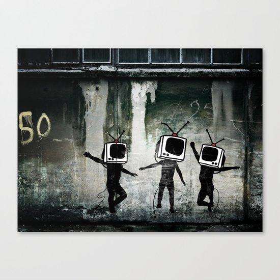 21st Century Digital Boys Canvas Print