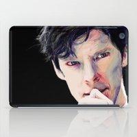 benedict cumberbatch iPad Cases featuring Benedict Cumberbatch by Hash