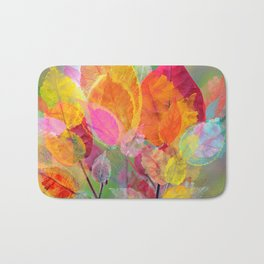 Leaf mosaic(30) Bath Mat