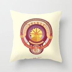 Spirit Seeker. Throw Pillow