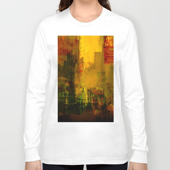 Yellow City Long Sleeve T-shirt