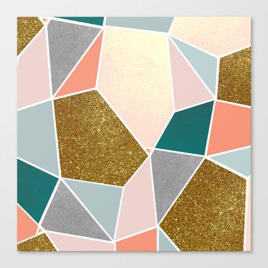 Geometric #society6 #decor #buyart Canvas Print