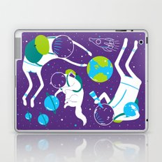 A Day Out In Space - Purple Laptop & iPad Skin
