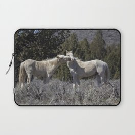 Wild Horses with Playful Spirits No 2 Laptop Sleeve