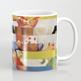 Glitch Pin-Up Redux: Farrah Coffee Mug