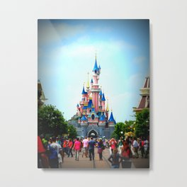 Disneyland Castle Metal Print