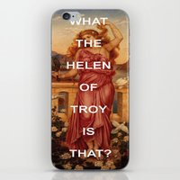 helen iPhone & iPod Skins featuring Triple Helen by Beastie Boys Art History