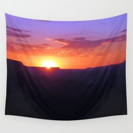Colorful Grand Canyon Sunset Wall Tapestry