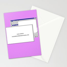 WWW. Stationery Cards