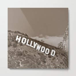 Hollywood Dreaming Metal Print