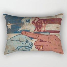 Blame US Rectangular Pillow