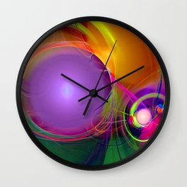 Gravitational Attraction Wall Clock