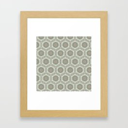 Hexaflower Framed Art Print