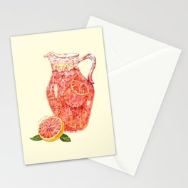 Grapefruit Ade Stationery Cards