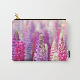 Pink & Purple FLowerS Carry-All Pouch