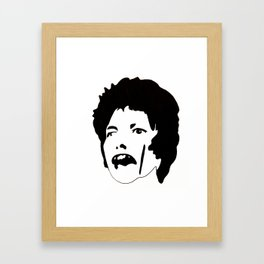D B Framed Art Print