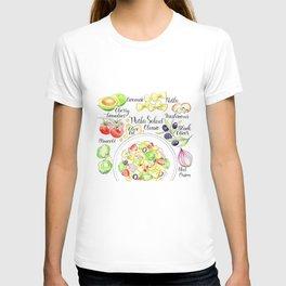 Italian food pasta salad T-shirt