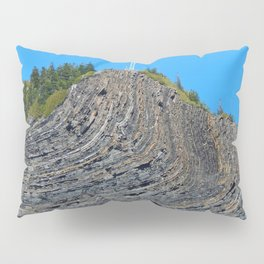 Bent rock Mountain cross Pillow Sham