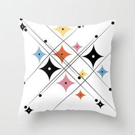 Vintage BW 02 Throw Pillow
