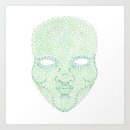 The Green Man Art Print