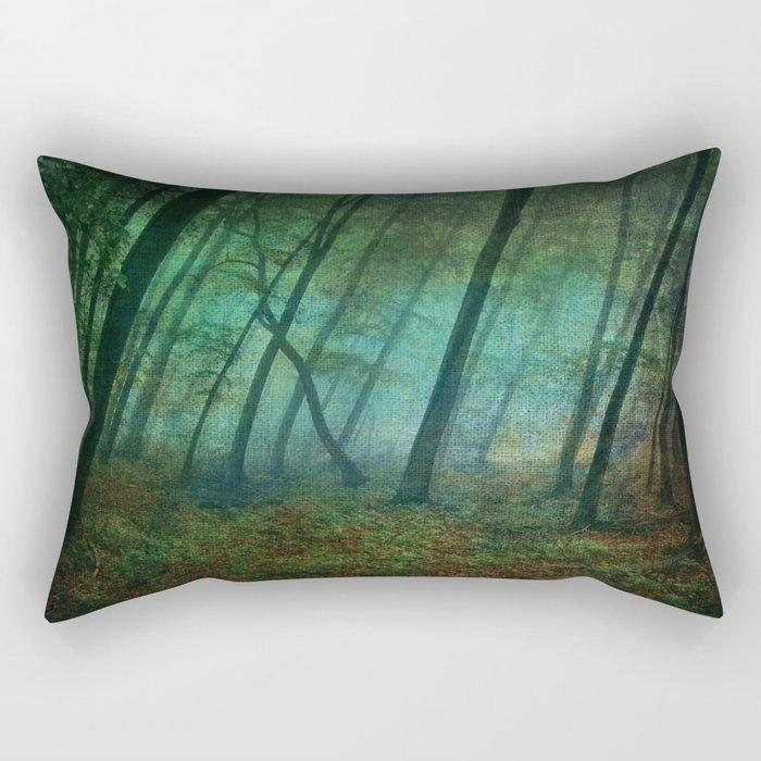 Calming blue winds Rectangular Pillow