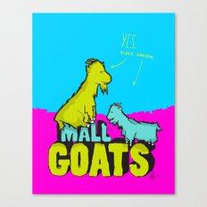 Mall Goats Canvas Print