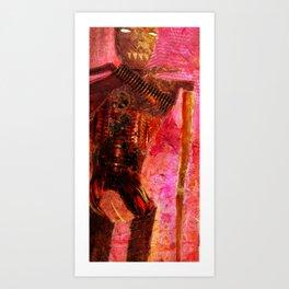 Robots Will Destroy Us All Art Print