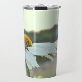 Bellis perennis: European daisy Travel Mug