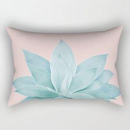 Blush Agave #4 #tropical #decor #art #society6 Rectangular Pillow