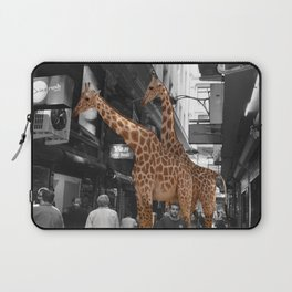 Safary in City. African Invasion. Laptop Sleeve