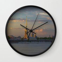 Peter Paul Fortress Wall Clock